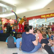 Magic Show Fun At Shopping Centre Image