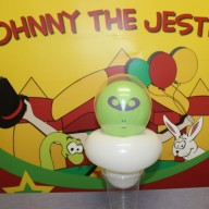 Johnny the Jester Balloon Alien Image