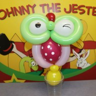 Johnny The Jester Balloon Owl Image